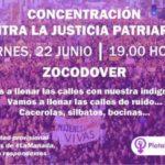Concentración este viernes en Zocodover en contra de la libertad provisional de 'La Manada'