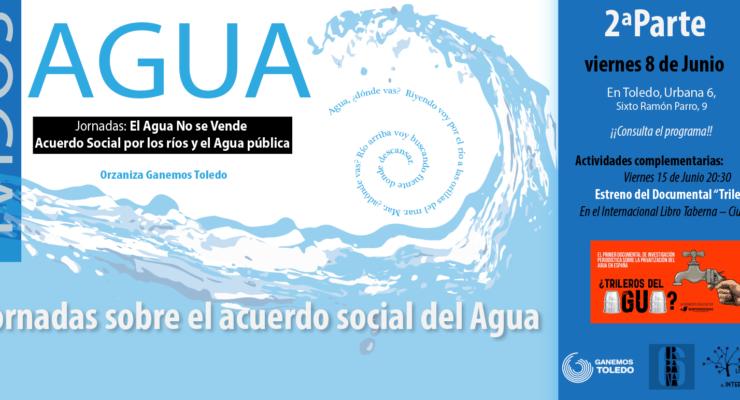 'El agua no se vende', una jornada por la gestión pública y sostenible