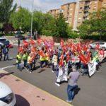Las 84 mujeres despedidas de Gestipack en Ontígola reclaman soluciones en Toledo