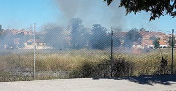 Dos fuegos de malezas en el entorno de la Vega Baja de Toledo