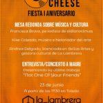 Compact Cheese celebra su primer aniversario en Toledo