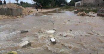 Más de 80.000 m3 de agua se esfuman por una avería en el canal del trasvase Tajo-Segura