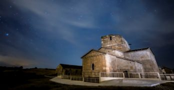 """Astronomía para continuar con la divulgación de la """"joya"""" de Santa María de Melque"""