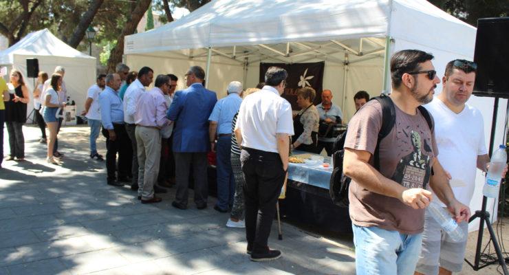 Las familias toledanas disfrutan de la fiesta del aceite de oliva de la DOP Montes de Toledo