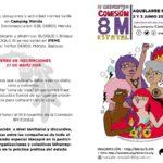 La Plataforma 8M de Toledo asiste al III Encuentro Estatal en Mérida