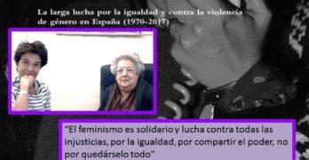 'La mujer que dijo basta', una biografía sobre la lucha por la igualdad desde el franquismo