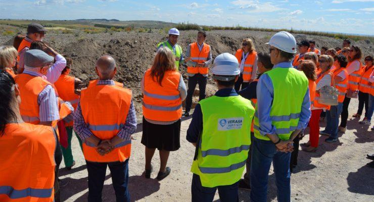 La conexión desde el depósito de agua de Esquivias con la conducción de Seseña funcionará este verano