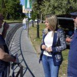 Instalan una barandilla en Recaredo para mejorar la seguridad vial en el entorno del remonte mecánico en Toledo