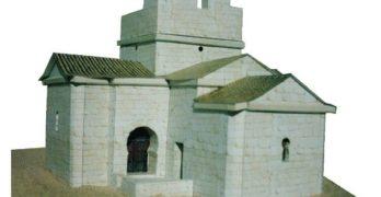 Ilustraciones en 3D para conmemorar el 50 aniversario del Sitio Histórico de Santa María de Melque