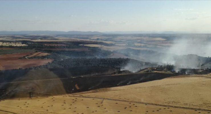 Controlado el incendio en La Pueblanueva