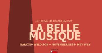 Llega a Toledo la tercera edición del festival de música joven La Belle Musique