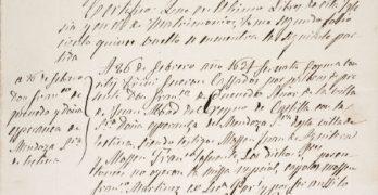 El Museo del Ejército de Toledo expone el certificado de matrimonio de Quevedo