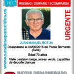 Buscan en Talavera a un hombre de 73 años que desapareció el lunes en un pueblo de Ávila