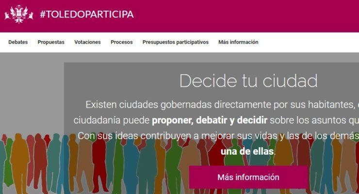 Participa.toledo.es ha sido reconocida por la ONU