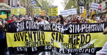 GRÁFICOS   Paro juvenil: la lenta recuperación de un sector azotado por la crisis
