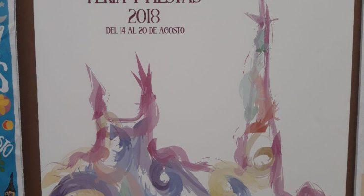 'Acuarelas Festivas', cartel de las Fiestas de Agosto 2018 en Toledo
