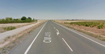 Fallece un motorista tras colisionar con un turismo en Consuegra