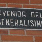 Casi medio centenar de municipios de la provincia mantienen calles con nombres franquitas