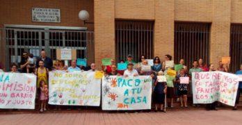 La lucha vecinal por el taller infantil 'Fantasía' de Palomarejos