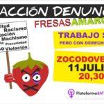 La Plataforma 8M Toledo denuncia los abusos que se cometen contra las temporeras de Huelva