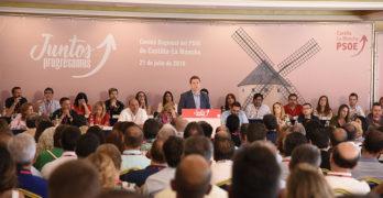 Emiliano García-Page designado candidato a la Presidencia de la Junta por aclamación
