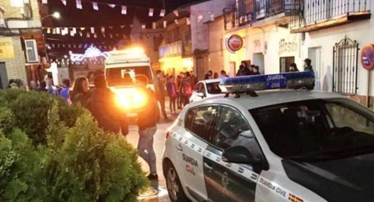 Reconocen a los guardias civiles que detuvieron al autor de los disparos en las fiestas Lominchar