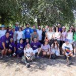 Jóvenes procedentes de toda España se unen para mejorar la limpieza del Circo Romano