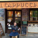 """Andrea Bosco, el barista que quiere """"educar"""" a los toledanos: """"El café es un ser vivo, hay que tratarlo con cuidado"""""""