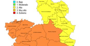 Controlado el incendio declarado en Talavera en el que trabajaron medios aéreos