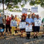 """La Plataforma del Tajo critica el """"victimismo"""" del Pacto del Agua de la Junta en su última concentración"""