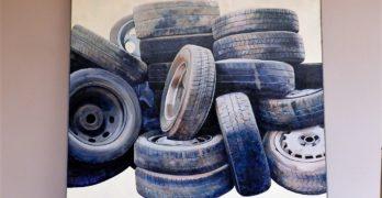 'Composición en gris' y 'Dicomondo', obras ganadoras del Premio Nacional de Pintura 'Antonio Arnau'