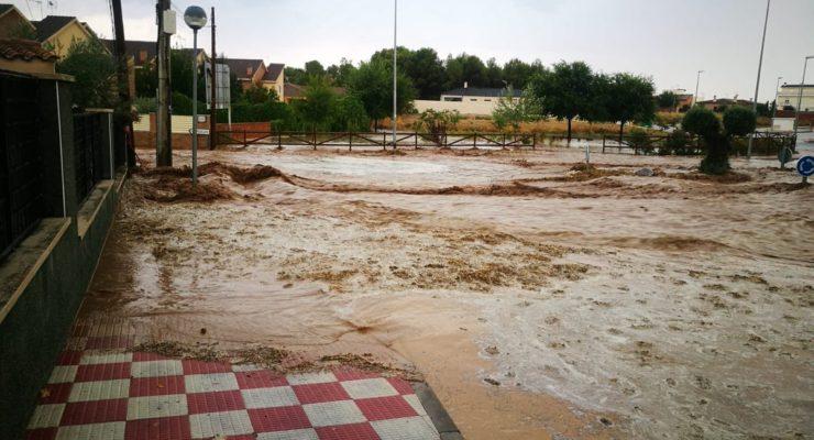 La Junta hará un estudio para solucionar los problemas de inundaciones en Cobisa