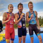 El talaverano Fernando Alarza, subcampeón de Europa de triatlón