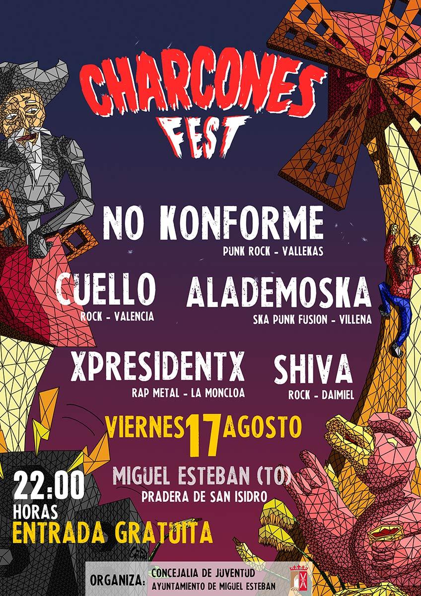 El Charcones Fest, un oasis de música alternativa en plena