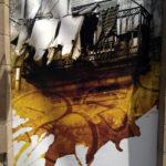 """Villafranca de los Caballeros vuelve a mostrar al mundo """"el arte en las cortinas"""""""
