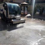 Talavera de la Reina intensifica la limpieza viaria con un plan especial en verano