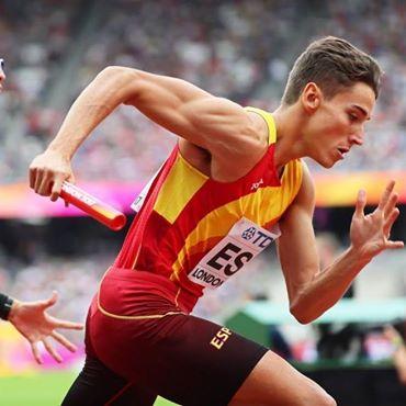 El toledano Lucas Búa, medalla de bronce en el relevo 4×400 en Berlín
