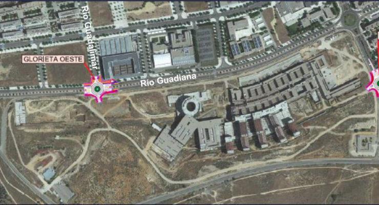 La construcción de dos rotondas de acceso al nuevo hospital de Toledo comenzará en un mes