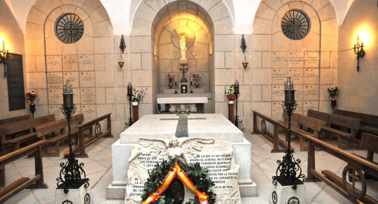 """El Gobierno de España considera que en la cripta de Moscardó """"no existe exaltación pública"""" de la dictadura"""