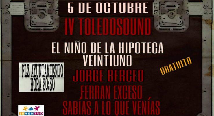 El Niño de la Hipoteca y Veintiuno lideran el cartel del IV festival 'Toledosound'