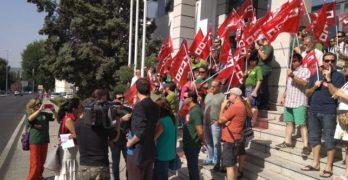 Agentes medioambientales exigen en Toledo el cumplimiento de la Ley de Empleo Público