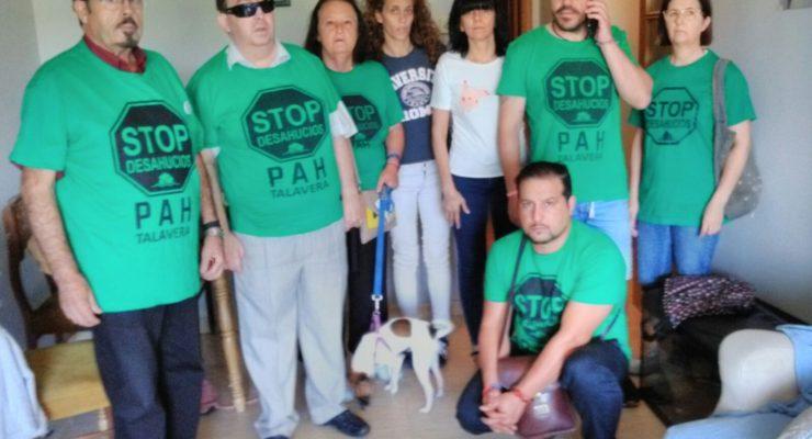 Paralizan un desahucio que iba a ejecutarse en el barrio de Patrocinio en Talavera