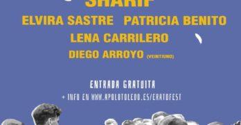 Música y poesía citan a Sharif y Elvira Sastre en el inédito Erató Fest de Toledo
