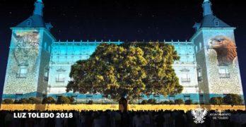 El Alcázar estrena 'Luz Toledo 2018', un colosal espectáculo de color, música e historia