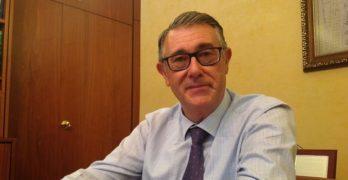 """Mario Urrea, presidente de la Confederación del Segura: """"El Tajo-Segura es fundamental en el sureste español"""""""