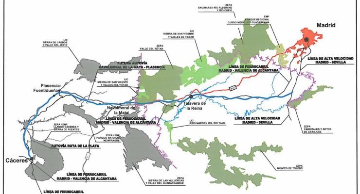 Talavera luchará por mantener la línea de tren convencional y la conexión en Cercanías a Madrid