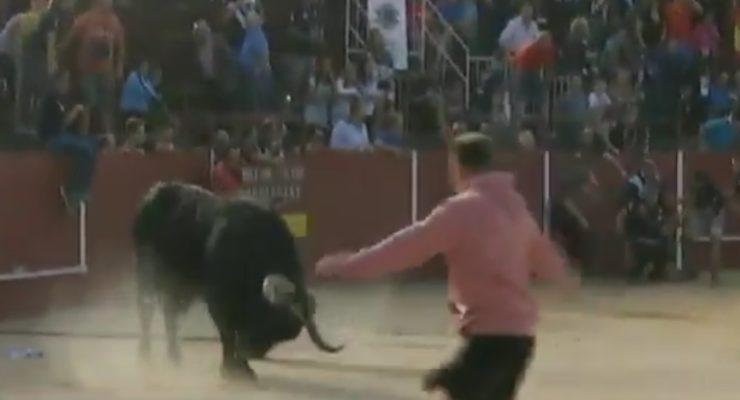 Estable dentro de la gravedad un vecino de Yuncos tras la cogida de un toro enmaromado