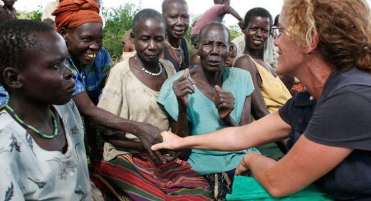 """""""Lo más gratificante es ver la esperanza con la que viven las personas a pesar de su situación"""""""