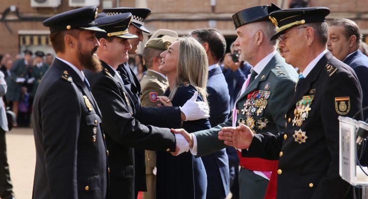 """Tolón: """"Debemos sentirnos orgullosos de nuestro país y de las Fuerzas y Cuerpos de Seguridad"""""""
