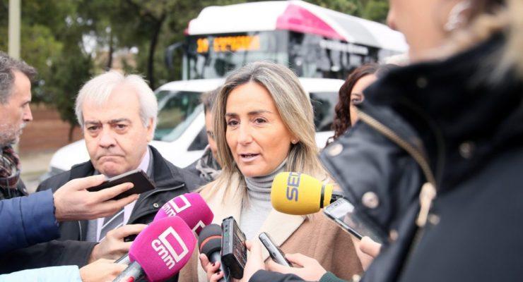 En marcha la nueva línea 14 de bus urbano que da servicio al Cementerio y La Abadía